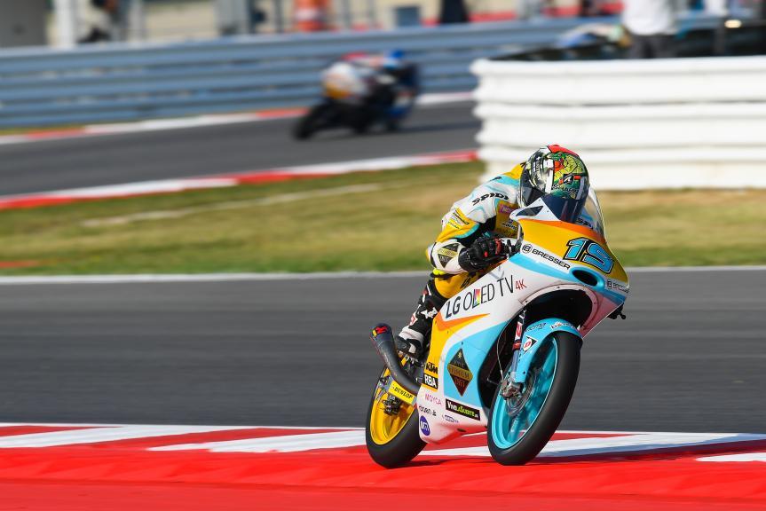 Gabriel Rodrigo, RBA Racing Team, Gran Premio TIM di San Marino e della Riviera di Rimini