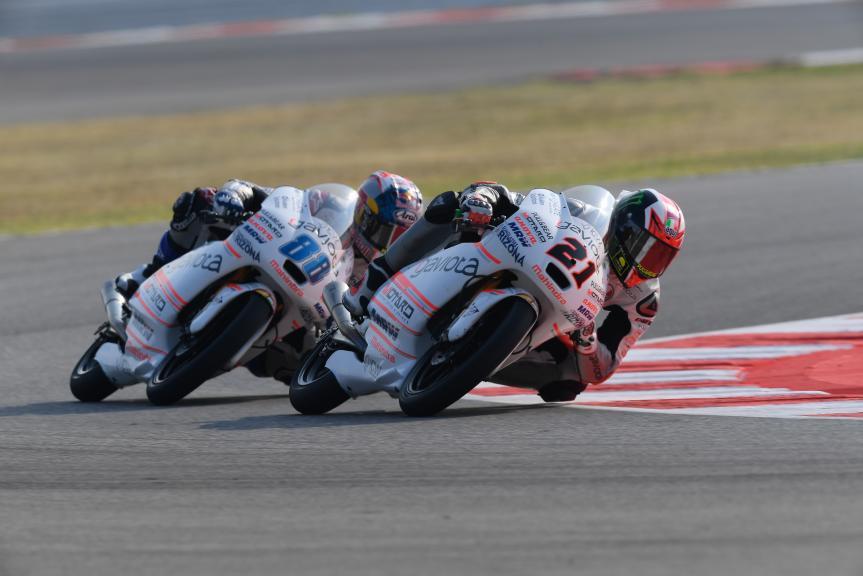Francesco Bagnaia and Jorge Martin, ASPAR Mahindra Team Moto3, Gran Premio TIM di San Marino e della Riviera di Rimini