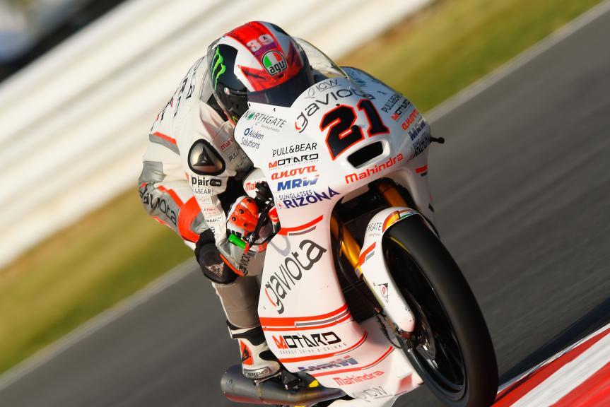 Francesco Bagnaia, ASPAR Mahindra Team Moto3, Gran Premio TIM di San Marino e della Riviera di Rimini
