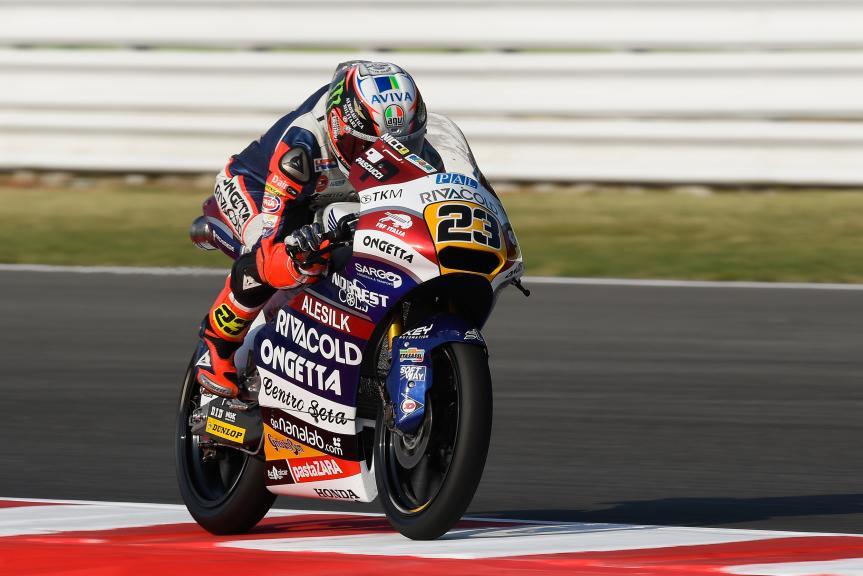 Niccolò Antonelli, Ongetta-Rivacold, Gran Premio TIM di San Marino e della Riviera di Rimini