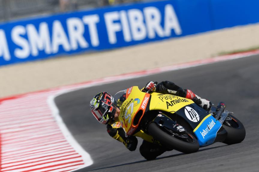 Edgar Pons, Paginas Amarillas HP 40, Gran Premio TIM di San Marino e della Riviera di Rimini