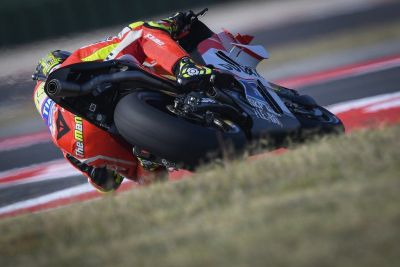UPDATE: @andreaiannone29 declared unfit to ride due to back injury