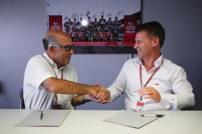 KTM unterschreibt 5-Jahres-Vertrag mit Dorna