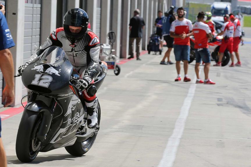 Thomas Luthi, KTM Factory Racing Team