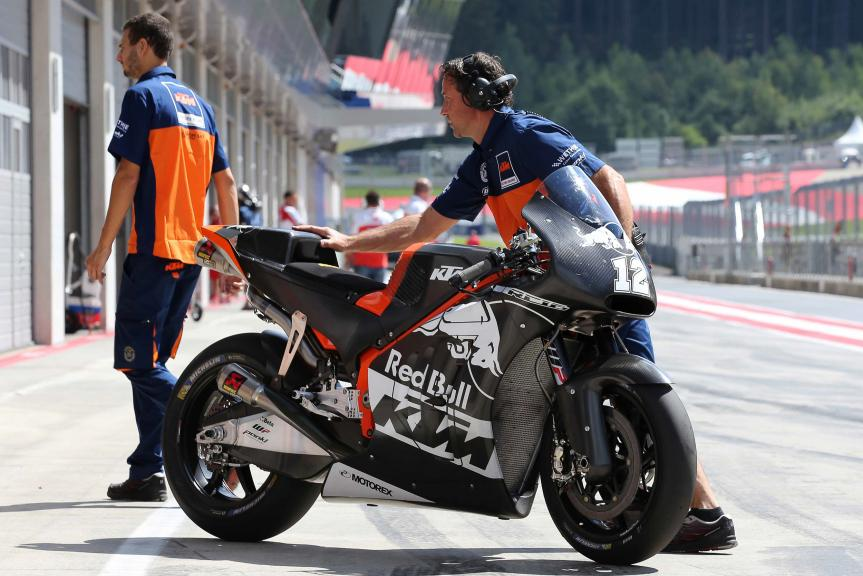 Thomas Luthi, KTM Factory Racing Team