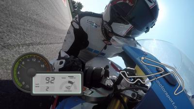 GoPro™ OnBoard auf dem Misano World Circuit