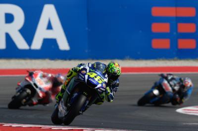 FP4 MotoGP™: Rossi mit der Bestzeit