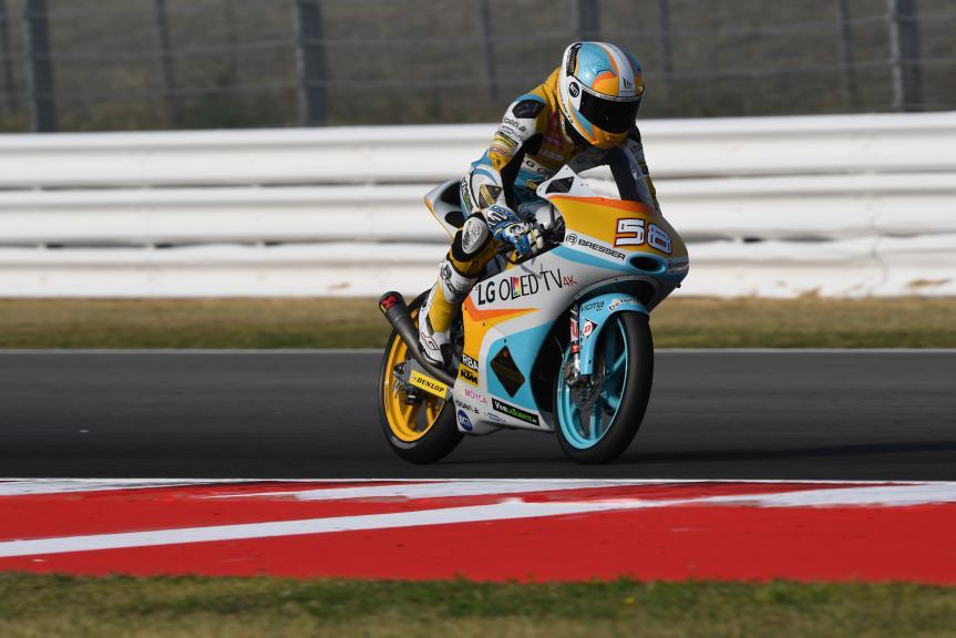 Juanfran Guevara, RBA Racing Team, Gran Premio TIM di San Marino e della Riviera di Rimini