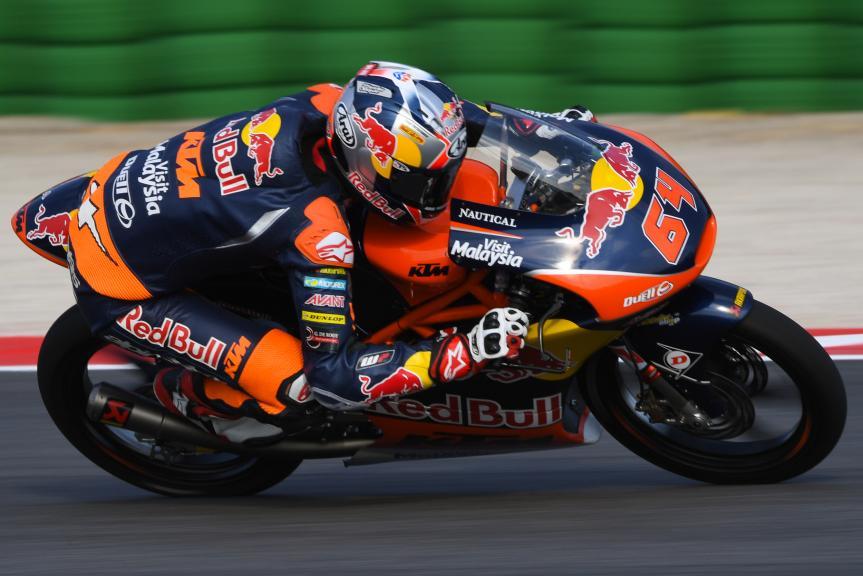 Bo Bendsneyder, Red Bull KTM Ajo, Gran Premio TIM di San Marino e della Riviera di Rimini