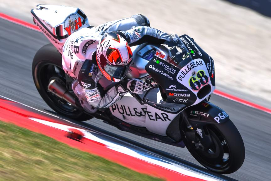 Yonny Hernandez, Aspar Team MotoGP, Gran Premio TIM di San Marino e della Riviera di Rimini
