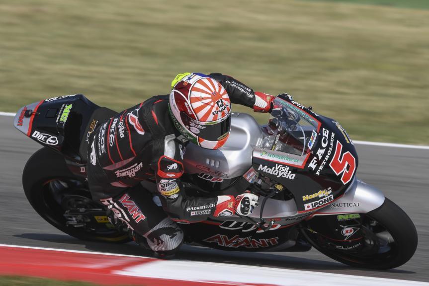 Johann Zarco, Ajo Motorsport, Gran Premio TIM di San Marino e della Riviera di Rimini