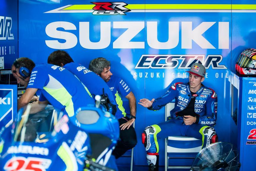 Maverick Viñales, Team SUZUKI ECSTAR, Gran Premio TIM di San Marino e della Riviera di Rimini © 2016 Scott Jones, PhotoGP