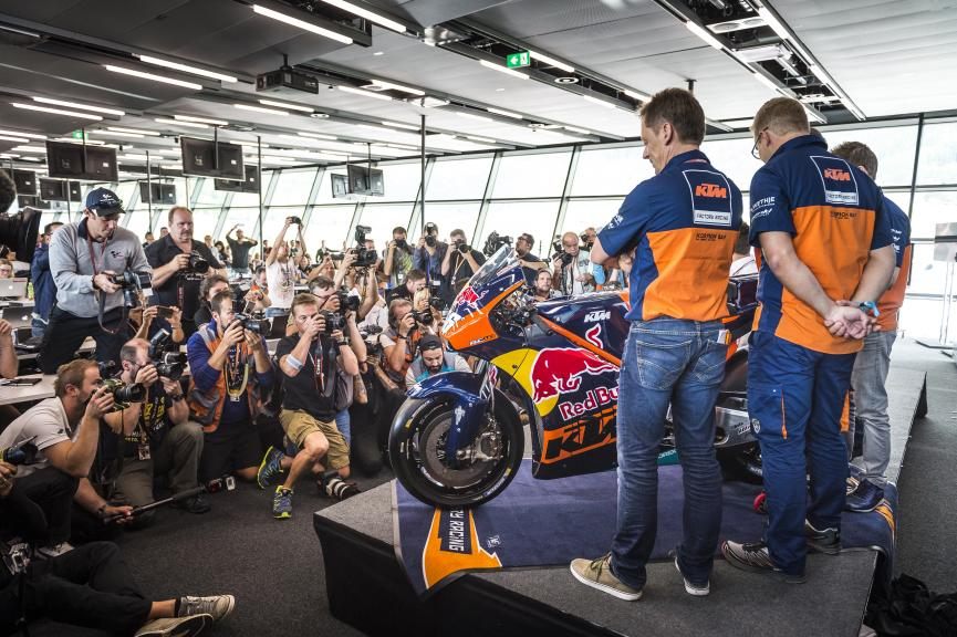 Mike Leitner and Mika Kallio, KTM Factory Racing Team