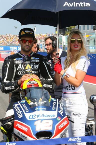 Javier Fores, Avintia Racing, Gran Premio TIM di San Marino e della Riviera di Rimini