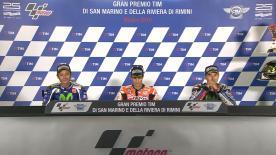 Die Sieger des MotoGP™ Grand Prix beim #SanMarinoGP sprechen über ihre Rennen.