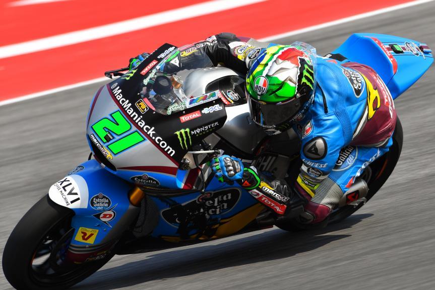 Franco Morbidelli, Estrella Galicia 0,0 Marc VDS, Gran Premio TIM di San Marino e della Riviera di Rimini