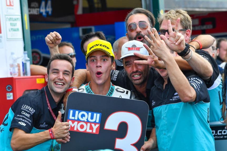 Joan Mir, Leopard Racing, Gran Premio TIM di San Marino e della Riviera di Rimini