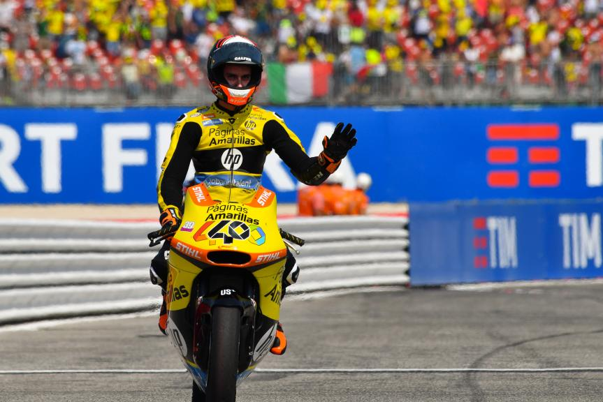 Alex Rins, Paginas Amarillas HP 40, Gran Premio TIM di San Marino e della Riviera di Rimini