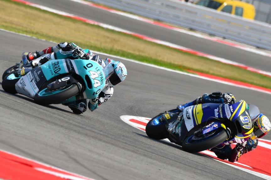 Xavi Vierge, Tech 3 Racing and Miguel Oliveira, Leopard Racing, Gran Premio TIM di San Marino e della Riviera di Rimini