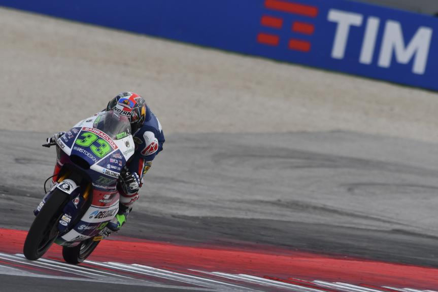 Enea Bastianini, Gresini Racing Moto3, Gran Premio TIM di San Marino e della Riviera di Rimini