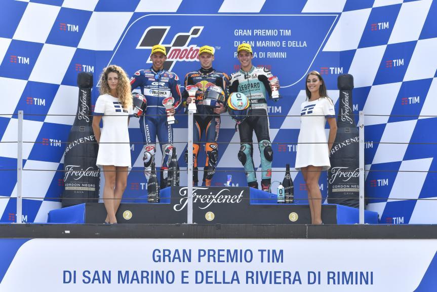 Brad Binder, Enea Bastianini, Joan Mir, Gran Premio TIM di San Marino e della Riviera di Rimini