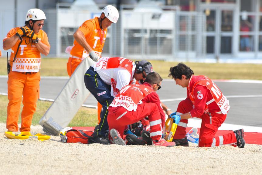 Xavier Simeon, QMMF Racing Team, Gran Premio TIM di San Marino e della Riviera di Rimini