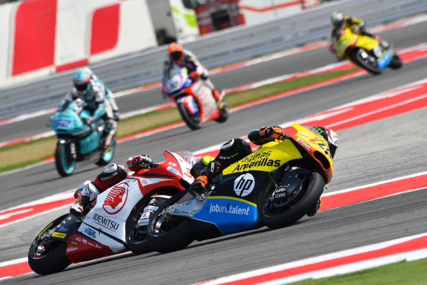 Alex Rins, Paginas Amarillas HP 40 and Takaaki Nakagami, IDEMITSU Honda Team Asia, Gran Premio TIM di San Marino e della Riviera di Rimini