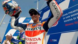After a difficult 2016 season, Dani Pedrosa finally sees the light at the end of the tunnel by claiming his first victory of the year at the San Marino GP.