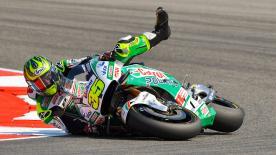 Un repaso a las causas y efectos de las caídas durante el Gran Premio TIM de San Marino y de la Rivera de Rímini.