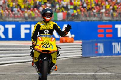 "Rins' action plan in Misano: ""Push from the start!"""