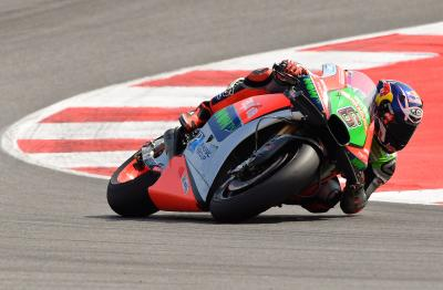 More points for Aprilia's Bradl