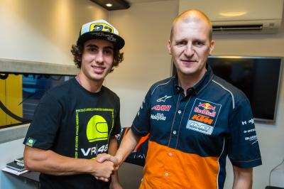 Antonelli joins Bendsneyder at Red Bull KTM Ajo in 2017