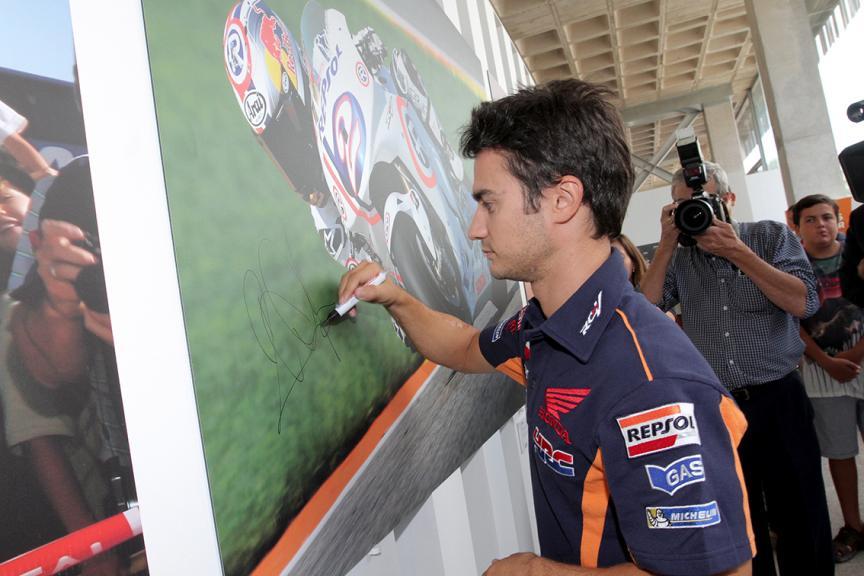Dani Pedros, leyenda del motor