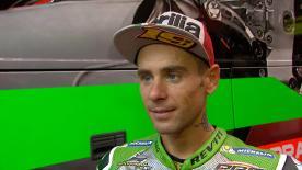 El piloto del Aprilia Racing Team Gresini acabó en décima posición después de un buen fin de semana en el Misano World Circuit Marco Simoncelli.