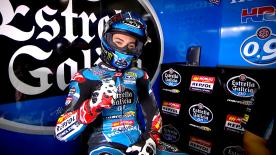 Jorge Navarro (Estrella Galicia 0,0) is one of the Moto3™ title contenders - but his season has been one of ups and downs