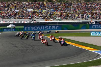 Valencia bleibt MotoGP™ Gastgeber bis 2021
