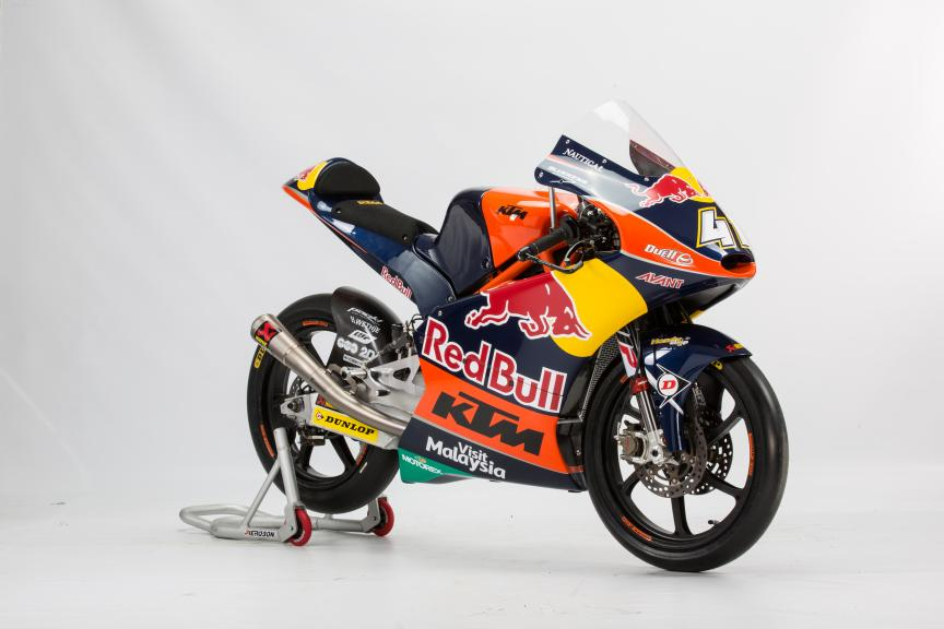 Brad Binder, Red Bull KTM Ajo, 2016 World Champion Moto3
