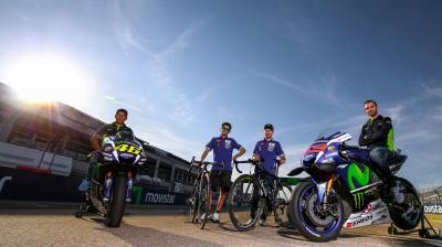 Lorenzo & Rossi treffen Quintana & Valverde