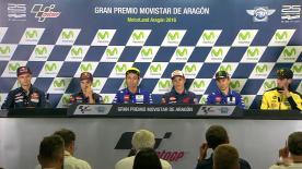 Cosa è stato detto nella conferenza stampa che apre ufficialmente il GP d'Aragona.