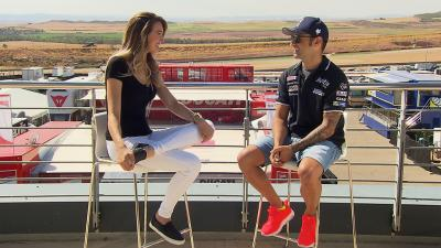 Barbera: 'Michelin tyres suit my riding style'