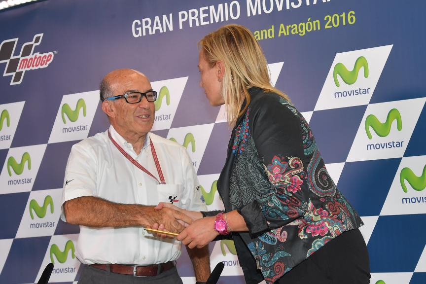 Carmelo Ezpeleta, Gran Premio Movistar de Aragon