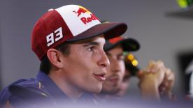 At the press conference Rossi & Marquez explain different strategies for winning the 2016 championship...