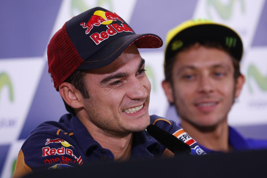 Press Conference, Gran Premio Movistar de Aragon