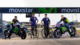 Aragon GP kicks off with Rossi and Lorenzo meeting Quintana and Valverde