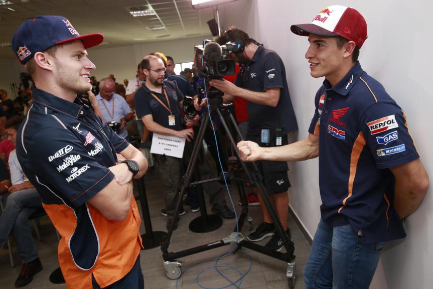 Press Conference, Gran Premio Movistar de Aragon