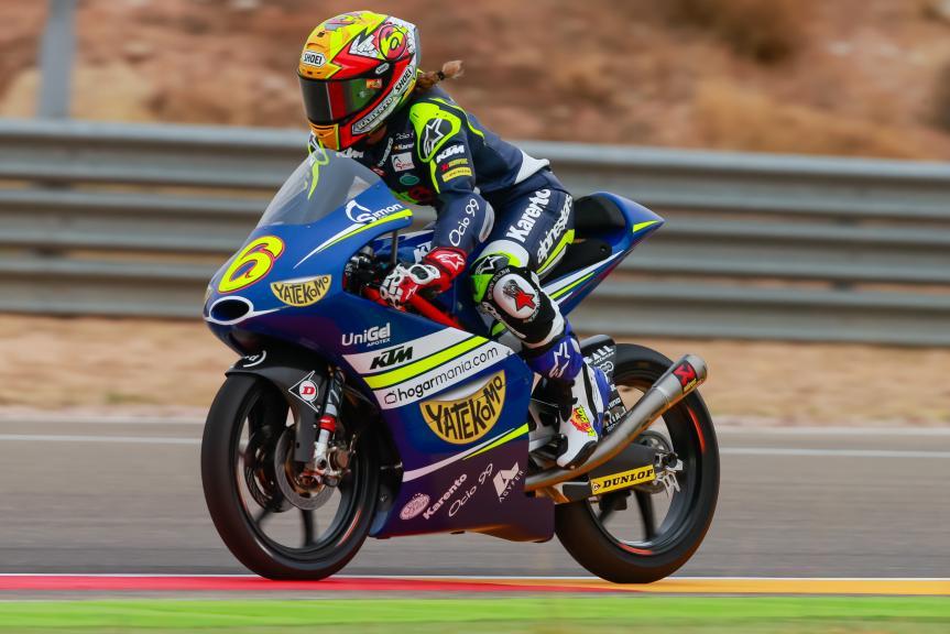 Maria Herrera, MH6 Laglisse, Gran Premio Movistar de Aragón