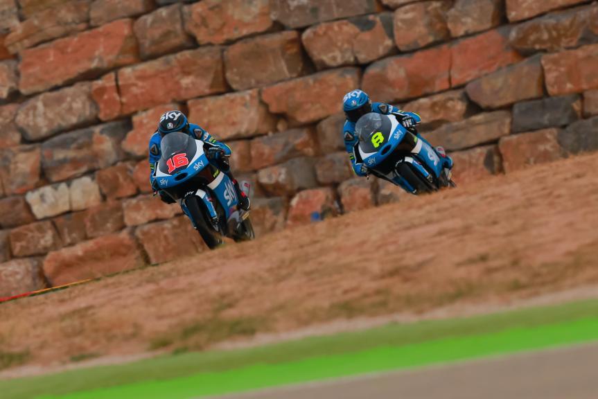 Nicolo Bulega, Andrea Migno, SKY Racing Team VR46, Gran Premio Movistar de Aragón