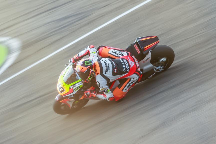 Luca Marini, Forward Team, Gran Premio Movistar de Aragón