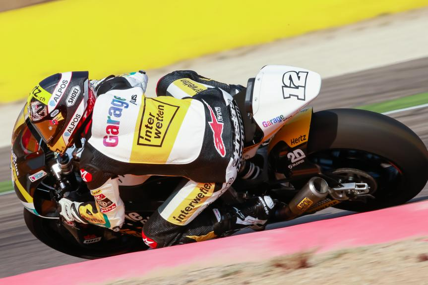 Thomas Luthi, Garage Plus Interwetten, Gran Premio Movistar de Aragón