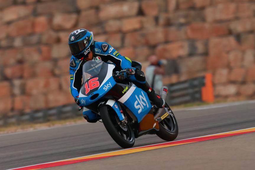 Andrea Migno, SKY Racing Team VR46, Gran Premio Movistar de Aragón